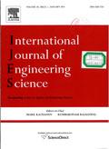 International Journal of Engineering Science