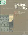 Journal of design history