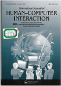 International journal of human-computer interaction