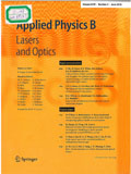 Applied physics. B, Lasers and optics