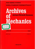 Archives of Mechanics