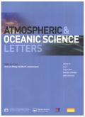 大气和海洋科学快报(英文版)